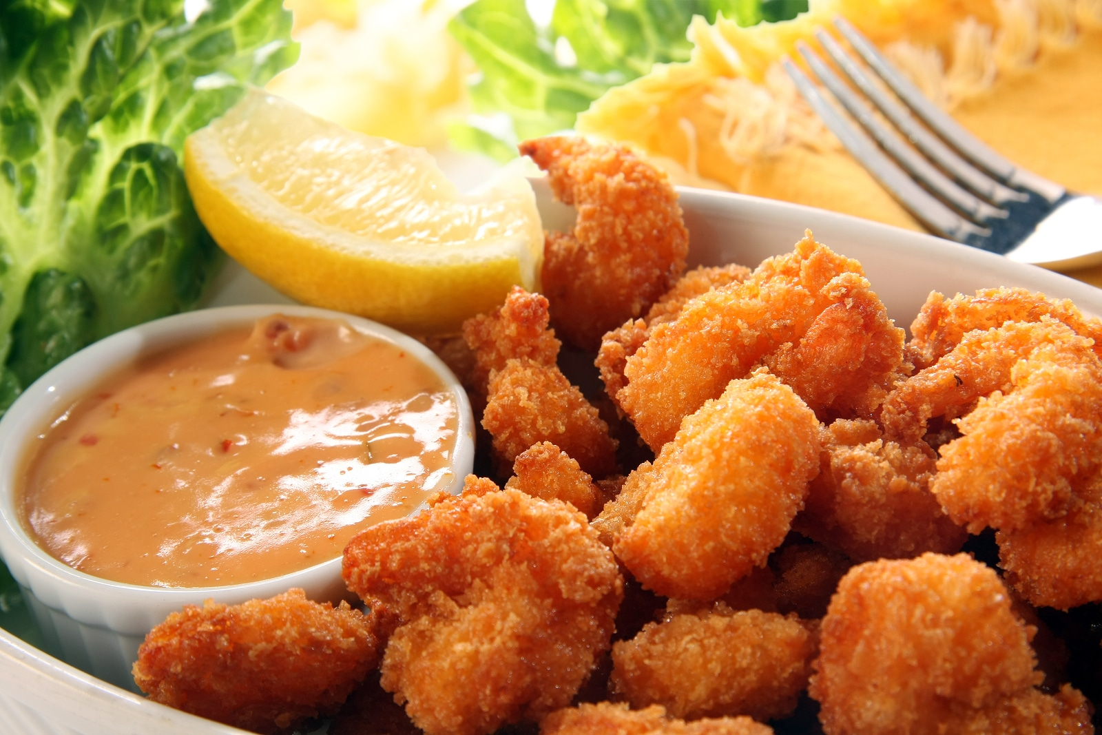 Fried shimp